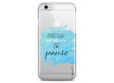 Coque iPhone 6Plus/6SPlus Maintenant en mode pause