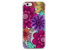 Coque iPhone 6/6S Floral Vibrant hand drawn illustration