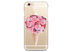 Coque iPhone 6/6S Flowers and macarons bouquet