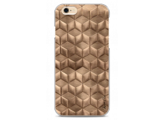 Coque iPhone 6/6S Gold deco geometric