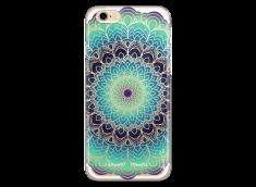 Coque iPhone 6/6S Green Galaxy Mandala
