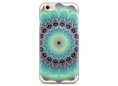 Coque iPhone 6Plus/6SPlus Green Galaxy Mandala