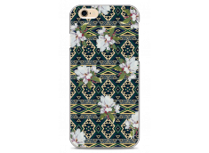 Coque iPhone 6/6S Green aztec with flowers