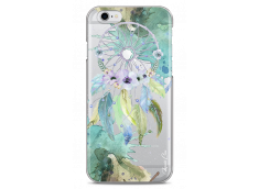 Coque iPhone 6 Plus /6S Plus Green watercolor floral dreamcatcher