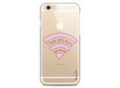 Coque iPhone 6Plus/6SPlus I love you more than wifi