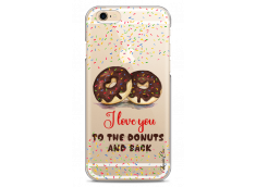 Coque iPhone 6/6S I love you to the donuts and back