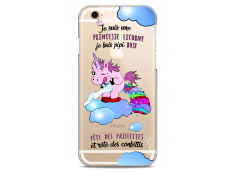 Coque iPhone 6Plus/6SPlus Princesse Licorne