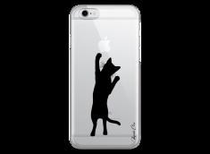 Coque iPhone 6Plus/6SPlus Cat let's play together