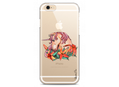 Coque iPhone 6 Plus /6S Plus Licorne with flowers