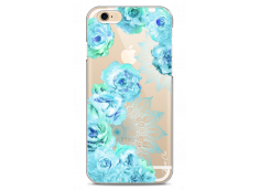 Coque iPhone 6Plus/6SPlus  Mandala & Blue Flowers