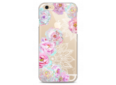Coque iPhone 6/6S Mandala & Pink Flowers