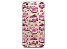 Coque iPhone 6/6S Pink cake pattern