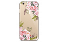 Coque iPhone 6/6S Pink Flowers Painted