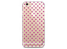 Coque iPhone 6/6S Pink glitter dots