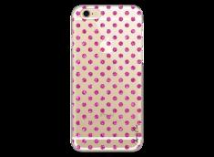 Coque iPhone 6Plus/6SPlus Pink glitter dots