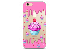 Coque iPhone 6/6S Pink Chocolate muffins pattern