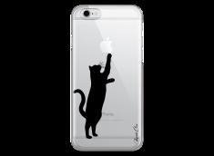 Coque iPhone 6Plus/6SPlus Cat play with me