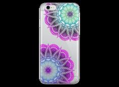 Coque iPhone 6/6S Purple & Blue Mandala