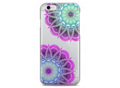 Coque iPhone 6Plus/6SPlus Purple & Blue Mandala