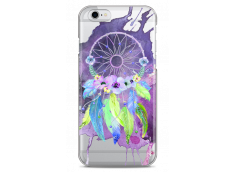 Coque iPhone 6/6S Purple watercolor floral dreamcatcher