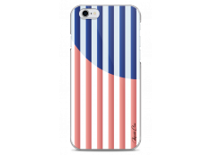 Coque iPhone 6Plus/6SPlus Red & Blue geometric forms