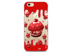 Coque iPhone 6Plus/6SPlus Red Chocolate muffins pattern
