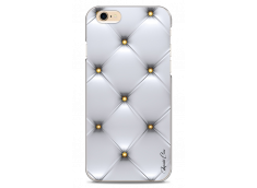 Coque iPhone 6/6S Silver & gold dots pattern