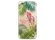 Coque iPhone 6/6S Tropical watercolor design Je t'irais bien