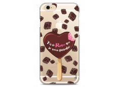 Coque iPhone 6Plus/6SPlus Chocolate tu es mon risque