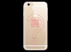Coque iPhone 6/6S Veux tu te conjuguer au futur avec moi?