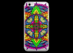 Coque iPhone 6Plus/6SPlus Vitrail Mandala