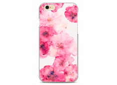 Coque iPhone 6/6S Watercolor pink bouquet flowers