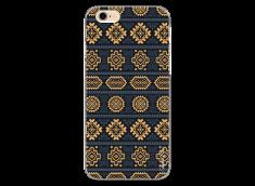 Coque iPhone 6/6S Blue & Yellow aztec