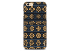 Coque iPhone 6Plus/6SPlus  Blue & Yellow aztec