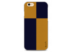 Coque iPhone 6Plus/6SPlus Yellow & Blue geometric forms