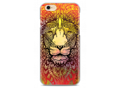 Coque iPhone 6/6S Yellow Lion Mandala