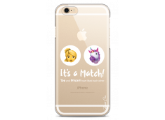 Coque iPhone 6/6S You and unicorn It's a match