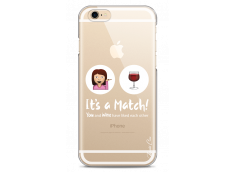 Coque iPhone 6/6S You and Wine It's a match