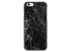 Coque iPhone X Black Marble