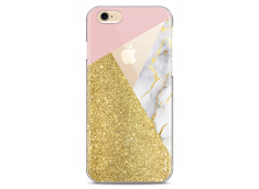 Coque iPhone 6/6S Glitter collage and Marble