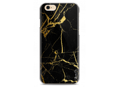 Coque iPhone 6/6S Gold and Black Marble