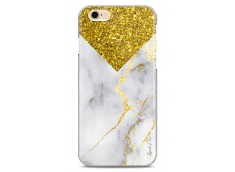Coque iPhone 6Plus/6SPlus Gold Glitter and Marble