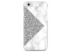 Coque iPhone 6/6S Silver Glitter and Marble