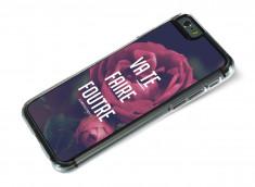 Coque iPhone 6 Dites-le avec des fleurs- Va te faire foutre