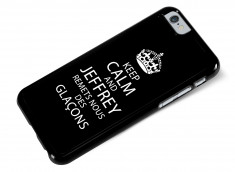 Coque iPhone 6 Keep Calm Jeffrey