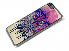 Coque iPhone 6 Plus Owl Face