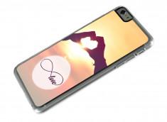 Coque iPhone 6 Plus Infinity Love- Paris