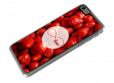 Coque iPhone 6 Plus Infinity Love- Strawberry