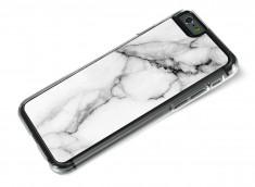 Coque iPhone 6/6S Effet Marbre- Blanc