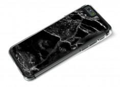 Coque iPhone 6/6S Effet Marbre- Noir
